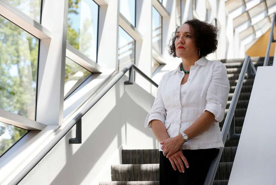 """Attorney Brenda Dabney, director of the Children's Law Center of Sacramento, says the conditions at the central intake unit create """"this never-ending cycle."""" Photo: Paul Chinn, The Chronicle"""