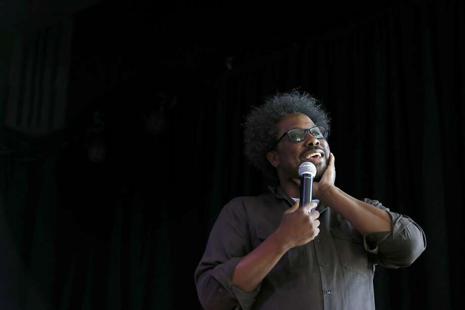 Berkeley comedian W. Kamau Bell has a radio show on KALW. Photo: Paul Chinn, The Chronicle