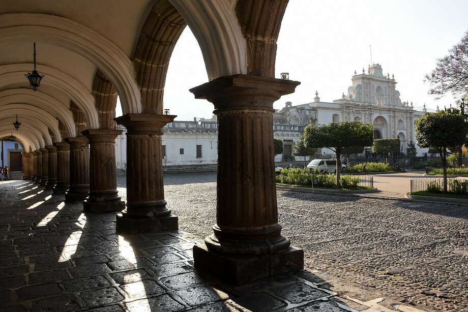 Antigua Guatemala Cathedral on the Plaza Mayor, Antigua's main square. Photo: Margo Pfeiff, Special To The Chronicle