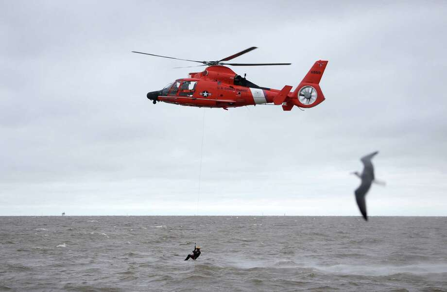 The U.S. Coast Guard is the primary patrol for our maritime borders along the Gulf of Mexico and Atlantic and Pacific Oceans. ( Gary Coronado / Houston Chronicle ) Photo: Gary Coronado, Staff / © 2015 Houston Chronicle