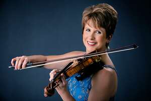 Stephanie Sant'Ambrogio is one of the musicians who is performing during the Cactus Pear Music Festival, which Sant'Ambrogio founded. She also serves as the chamber music festival's artistic director.
