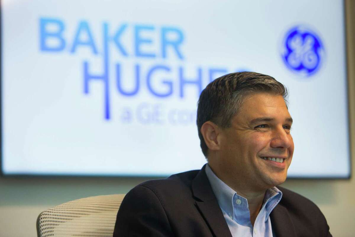 Lorenzo Simonelli, the new CEO of Baker Hughes, a GE company, was born in Italy and says he's looking for Italian restaurants in Houston. His family still runs an estate and vineyard in Tuscany.