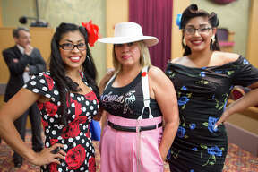 The Historic Guadalupe Theater celebrated its 75th anniversary with a nod back to its early days with a variety show featuring film shorts, dance and music Friday night July 7, 2017.