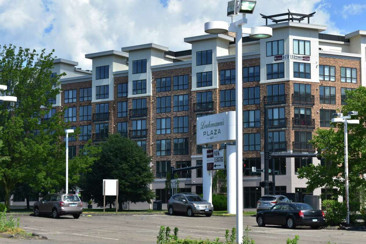 The Berkeley building at 500 West Ave. in Norwalk, Conn., part of the Waypointe development of Belpointe Capital and listed for sale in November 2018 along with the nearby Quincy Lofts apartments.