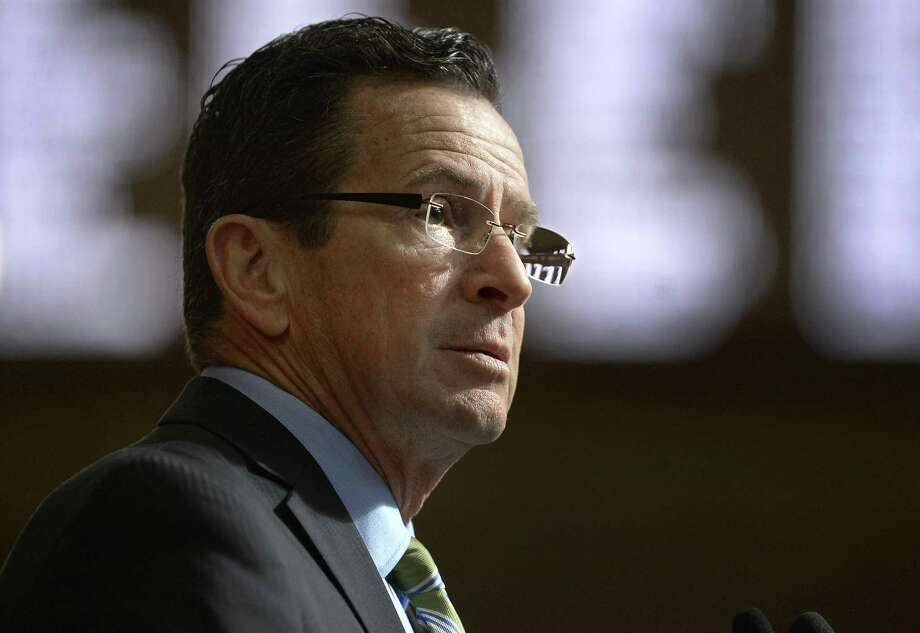 Connecticut Gov. Dannel P. Malloy delivers his budget address to members of the House and Senate inside the Hall of the House at the state Capitol in Hartford. Photo: Jessica Hill / Associated Press / AP2017