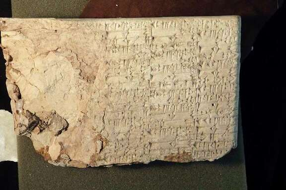 The owners of Hobby Lobby have consented to return this cuneiform tablet and other artifacts smuggled from Iraq. The company also has promised to improve the way it collects antiquities.