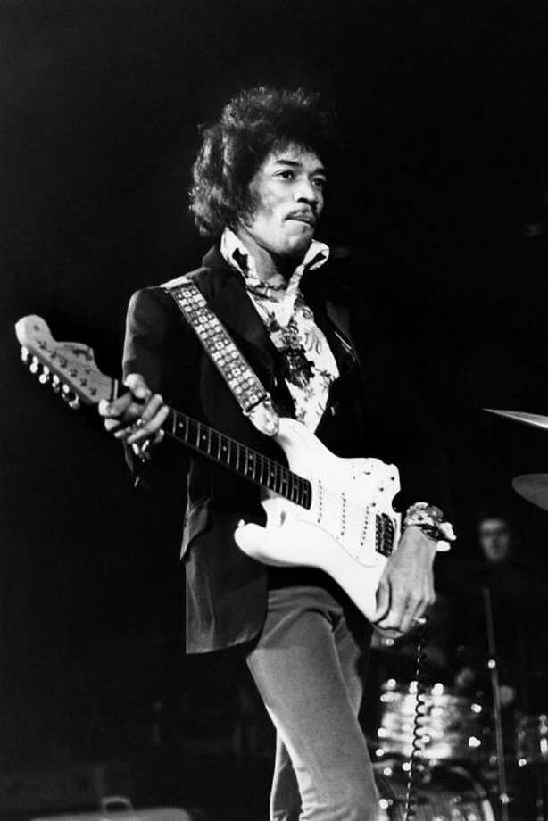 1967: Freak FlagJimi Hendrix introduced this fantastic phrase into culture, giving permission for people to let theirs fly loud and proud. Photo: GETTY / VAL WILMER/REDFERNS