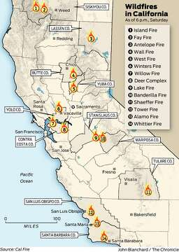 Wildfires Roar Through Rural Contra Costa County State