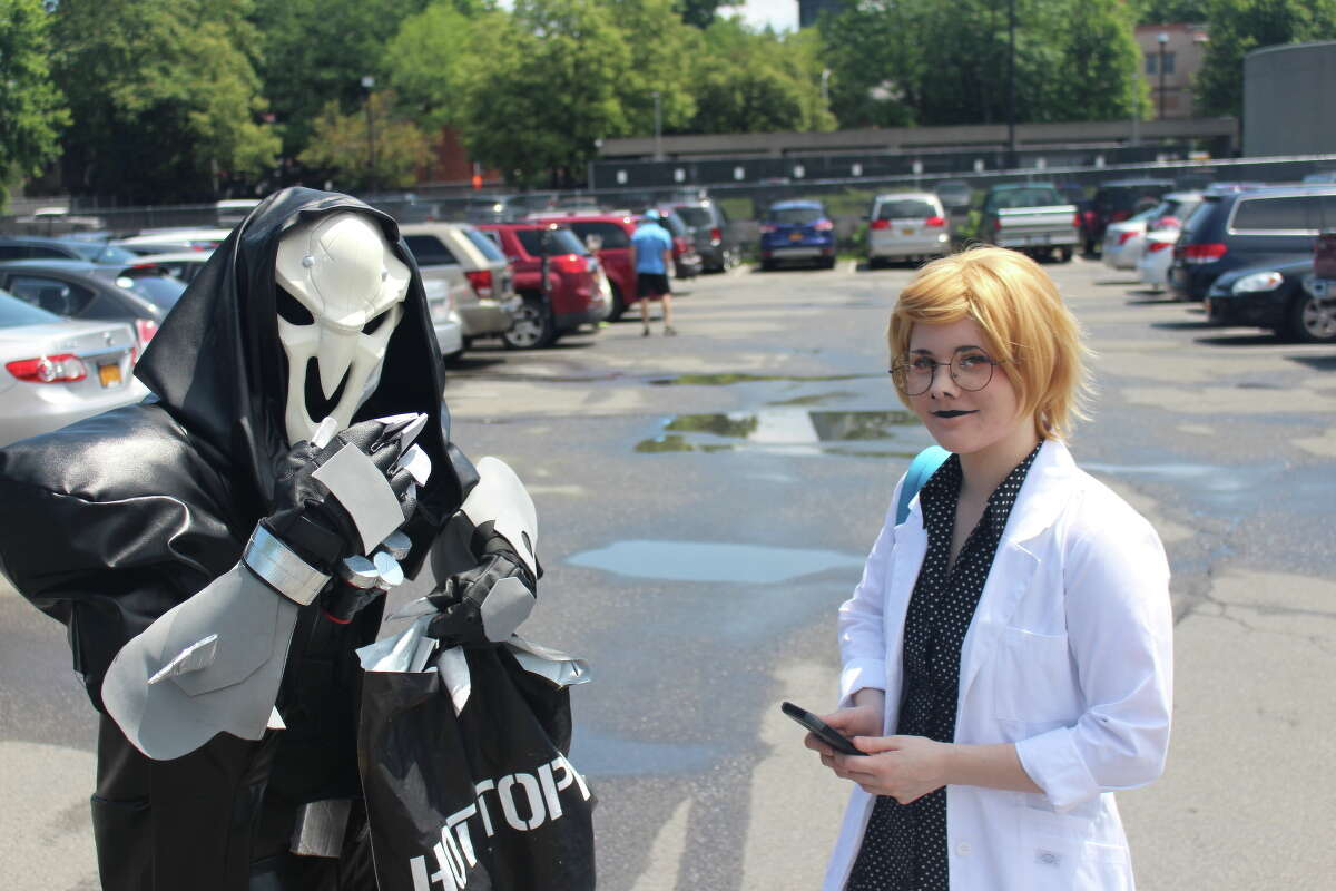 Were you Seen at the Electric City Comic Con at the Schenectady County Public Library on July 8, 2017?