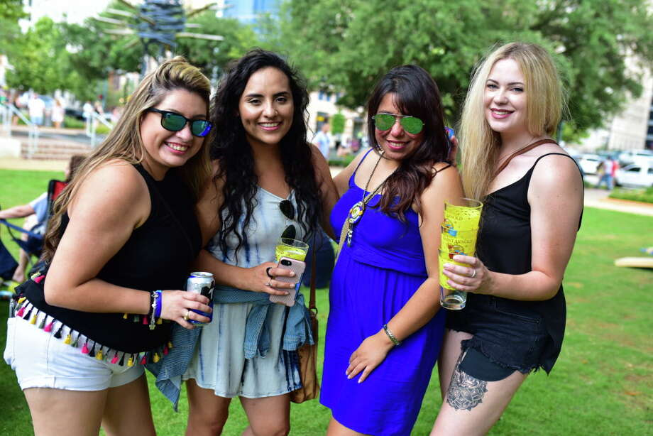 Saint Arnold's Downtown Pub Crawl at Market Square Park in Downtown Houston on Saturday July 8, 2017 Photo: Jamaal Ellis J.vince Photography, For The Chronicle / 2015