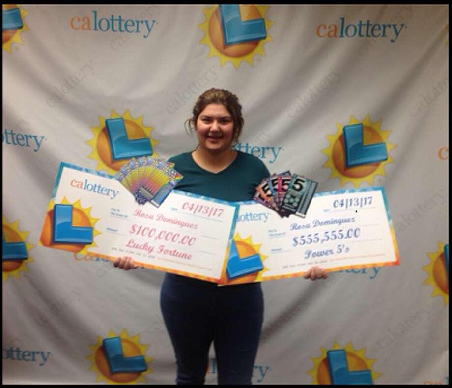 Rosa Dominguez Photo: California Lottery