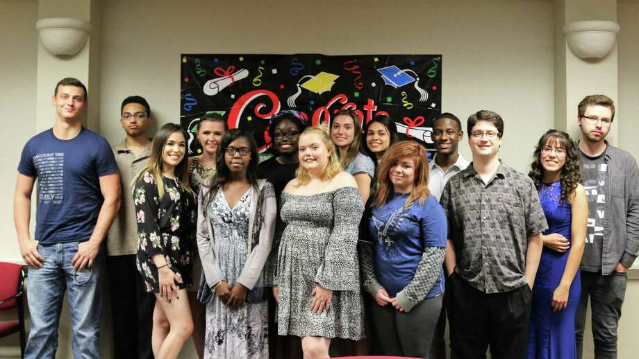 The Conroe Independent School District Board of Trustees recognized graduating seniors who participated in the Students Together Achieving Results (STAR) Program. This is the eighth group of students to graduate from and be honored for their hard work, persistence, and commitment to the STAR Program. Photo: Submitted