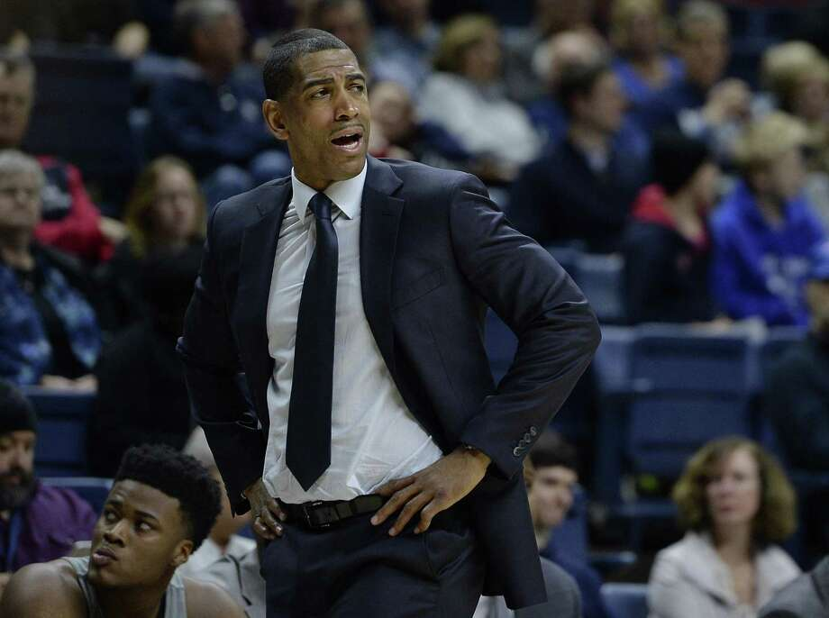 Kevin Ollie's UConn Huskies, in need of frontcourt help for next season, got a commitment Sunday from JUCO transfer Kwintin Williams. Photo: Jessica Hill / Associated Press / AP2017