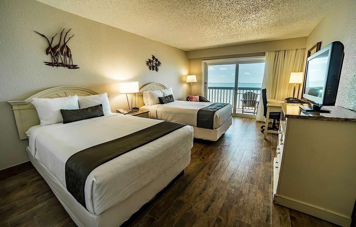 Emerald Beach Hotel 1102 S. Shoreline Blvd. Corpus ChristiSuites with a bay view start at $499 a night.