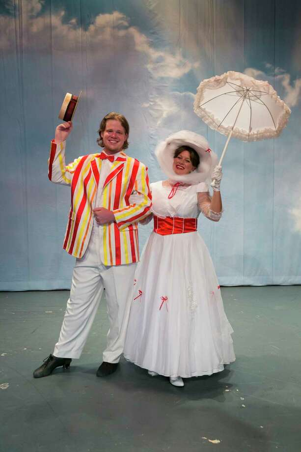 """Stage Right opens """"Mary Poppins"""" July 7 at the Crighton Theatre in Conroe. The show continues weekend through July 23. Katie Sigler plays Mary Poppins. Her understudy is Dinah Mahlman. Photo: Michael Pittman / Michael Pittman all rights reserved"""