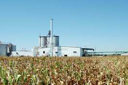 The Mid Missouri Energy ethanol plant rises out of the cornfields near Malta Bend, Mo., Aug. 15, 2006. The plant takes about 20 percent of the 90 million bushels of corn grown in the surrounding area to produce the ethanol that is now used to fuel some vehicles. Although too soon to know if ethanol supporters' predictions of rural economic salvation will pan out, a combination of state and federal tax incentives has biofuels projects springing up across Missouri and the country. (AP Photo/Southeast Missourian, Aaron Eisenhauer)