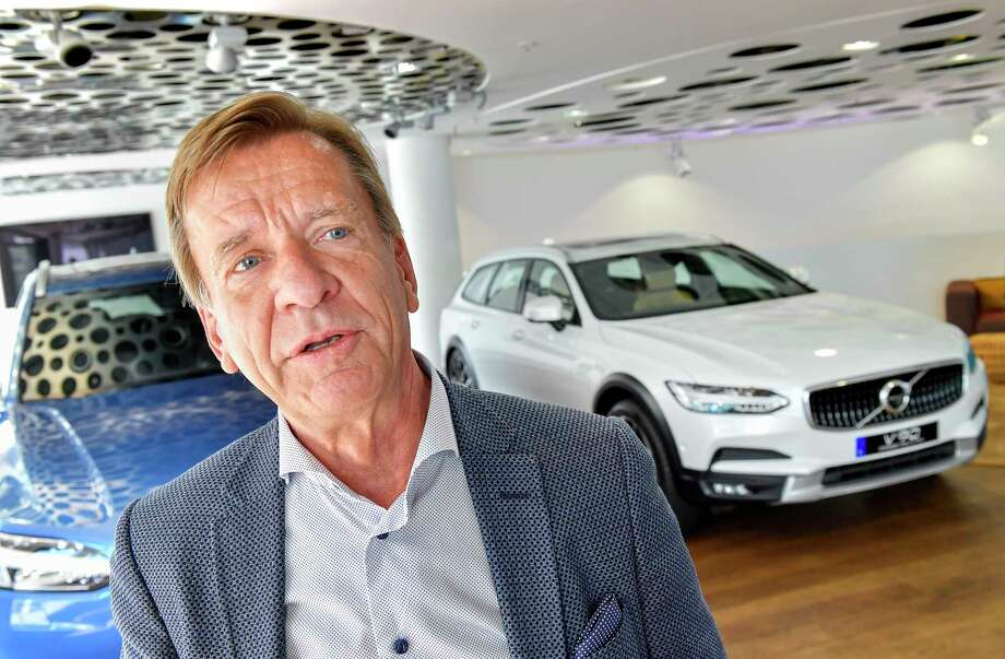 Volvo Cars CEO Hakan Samuelsson announced last week that all Volvo cars will be electric or hybrid within two years. The Chinese-owned automotive group plans to phase out the conventional car engine.  Photo: Jonas Ekstromer, Associated Press / Internal