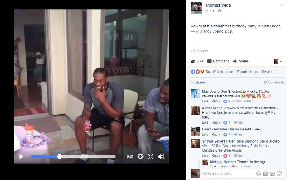Spurs Fans Leak Video Showing Kawhi Leonard At His
