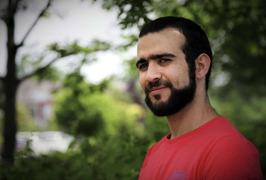 Former Guantanamo Bay prisoner Omar Khadr, 30, is seen in Mississauga, Ont., on Thursday, July 6, 2017. The federal government has paid Khadr $10.5 million and apologized to him for violating his rights during his long ordeal after capture by American forces in Afghanistan in July 2002. (Colin Perkel/The Canadian Press via AP) Photo: Colin Perkel, SUB / Associated Press / The Canadian Press