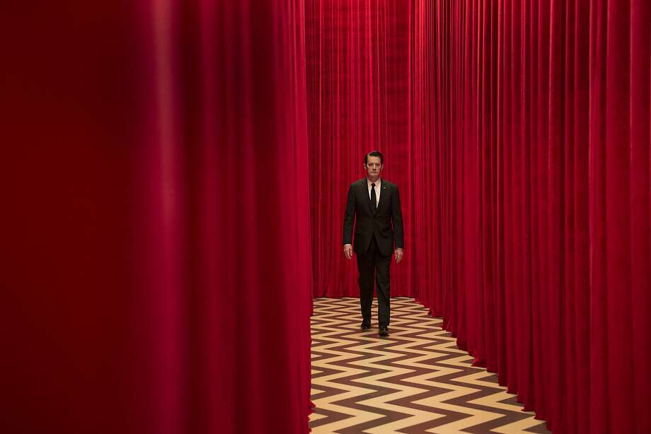Kyle MacLachlan as FBI Special Agent Dale Cooper in the show's iconic red room in the new 'Twin Peaks' on Showtime. Photo: Suzanne Tenner/Showtime, Suzanne Tenner/SHOWTIME