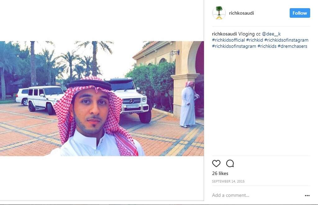 The rich kids of Saudi highlight the opulent lives of Saudi Arabia's rich children.Image source: Instagram Photo: Rich Kids Of Saudi Instagram