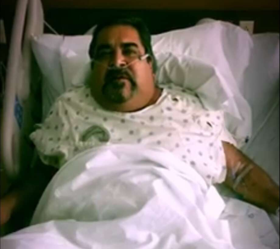 Tejano singer Ram Herrera has posted an emotional video from his hospital bed.