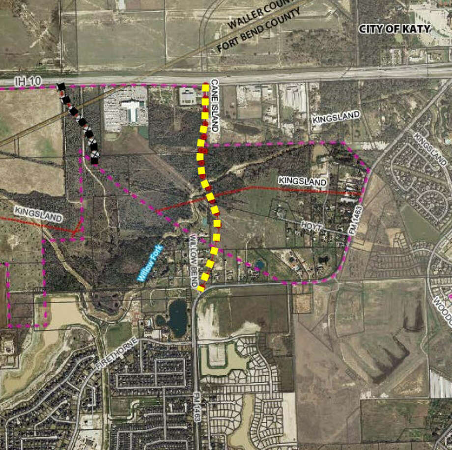 Fort Bend County awarded a construction contract for Cane Island Parkway in June. Photo: City Of Houston