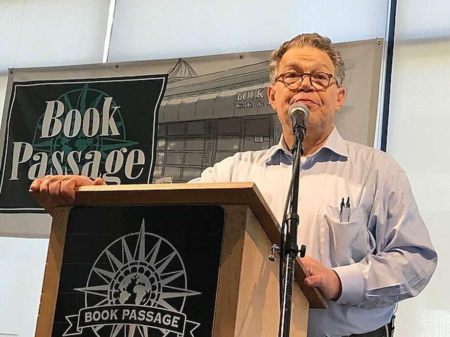Al Franken at Book Passage on Thursday, July 6. Photo: Leah Garchik, San Francisco Chronicle