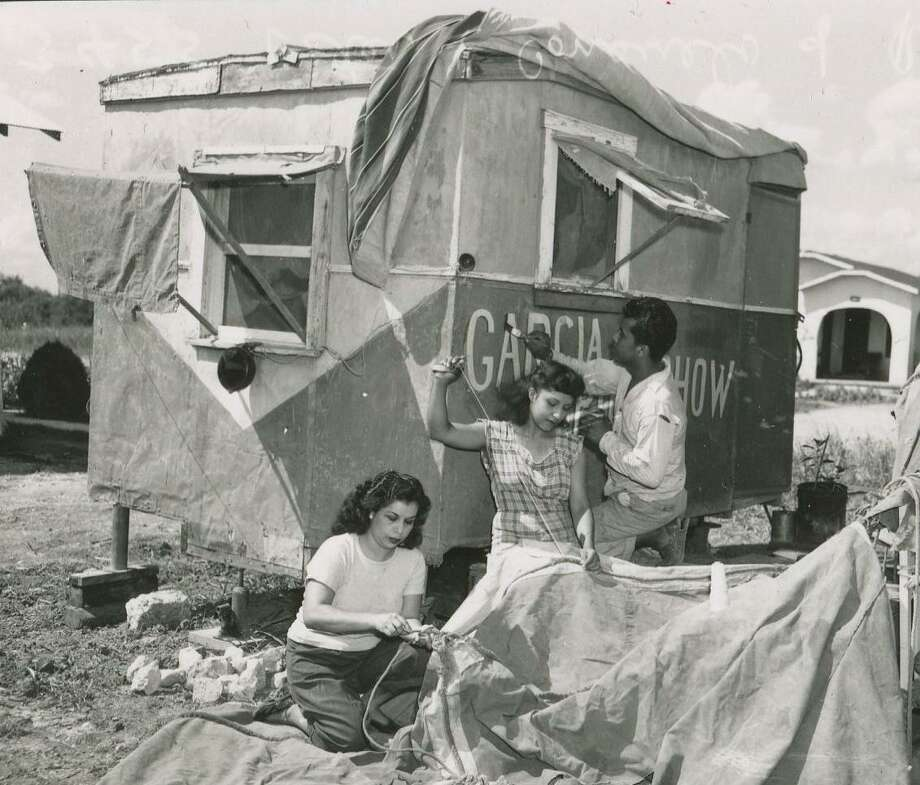 La Carpa García, a touring family circus troupe, was one of several based in San Antonio during the first half of the 20th century. Photo: Courtesy UTSA Special Collections