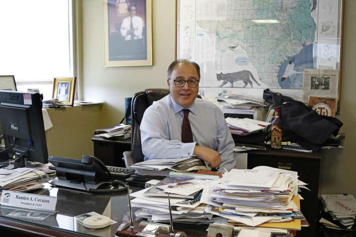 San Antonio Hispanic Chamber of Commerce CEO and President Ramiro Cavazos also has been San Antonio's economic development director.