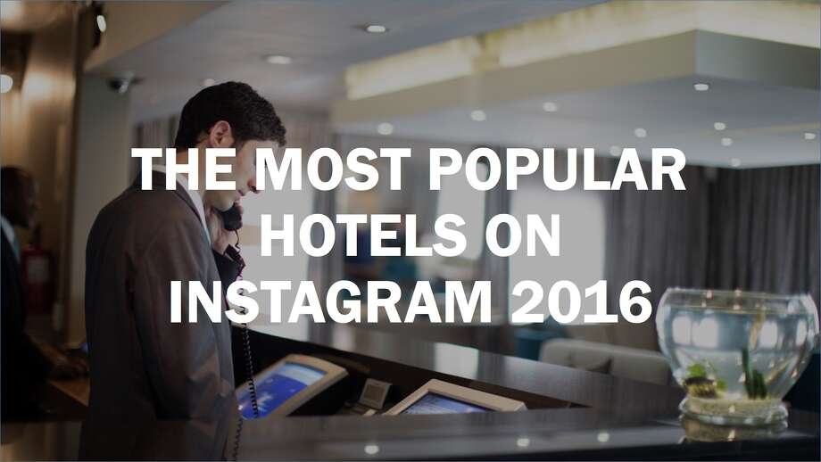 Click ahead to see the most popular hotels on Instagram of 2016