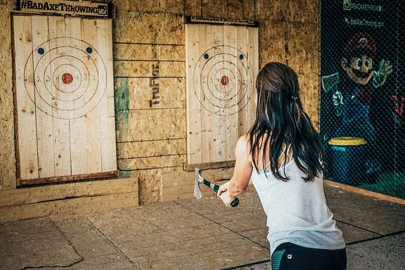 Bad Axe Throwing is about to open in Daly City