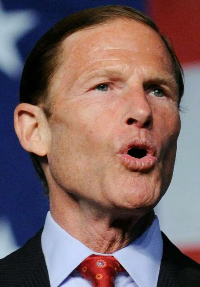 Democratic U.S. Senate candidate Richard Blumenthal, a Greenwich resident. Photo: File Photo / Greenwich Time File Photo