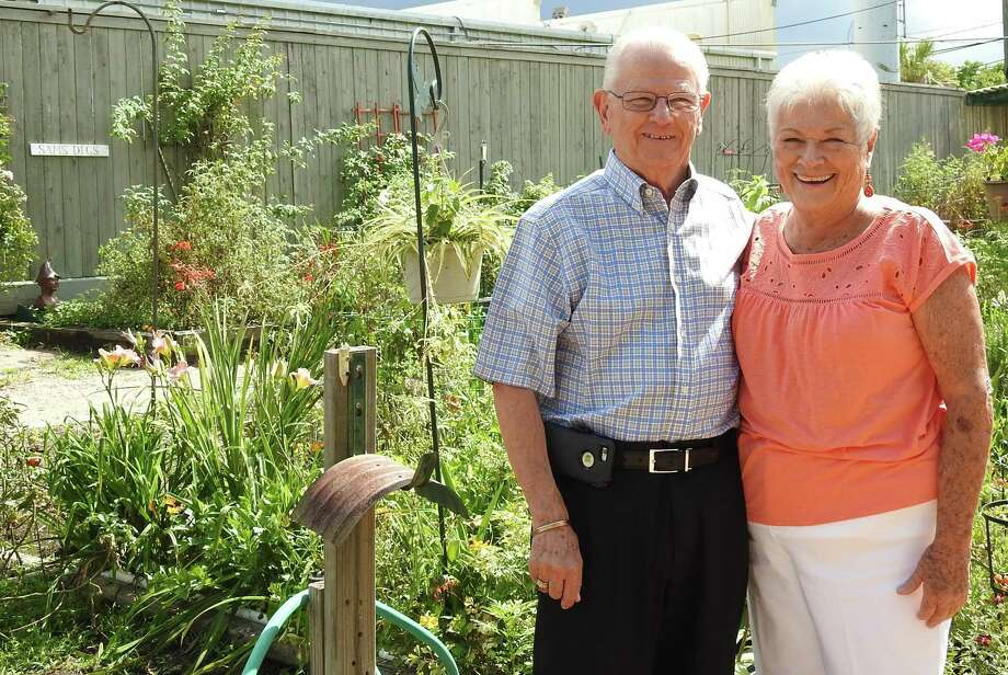 Eagle's Trace residents Raymond and Judy Doba are able to enjoy gardening in the community.
