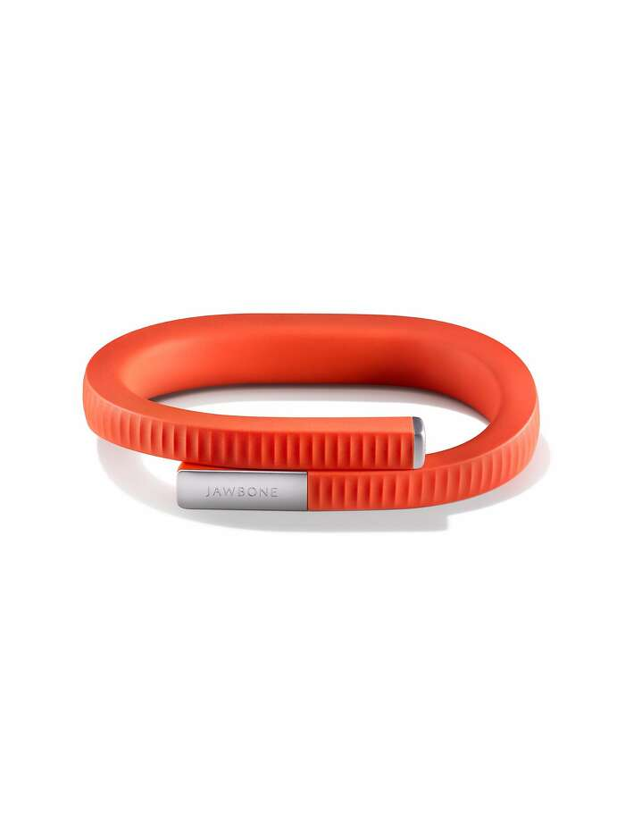 Jawbone UP24 retails for 149.99. It connects to your smartphone tracking your sleep, movement and eating habits. Photo: Jawbone