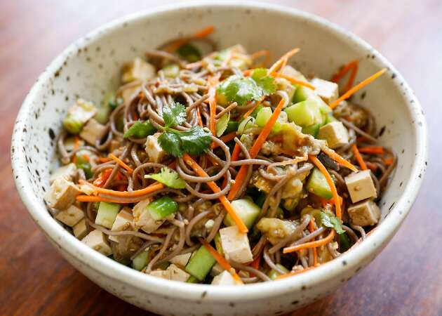 Repertoire: Summer means easy soba salads