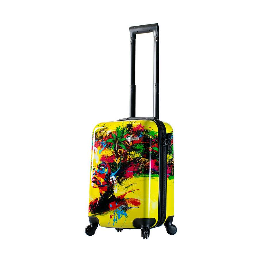 "Mia Toro ""Beautiful Minds"" Hardside Spinner Carry-On Photo: Mia Toro"