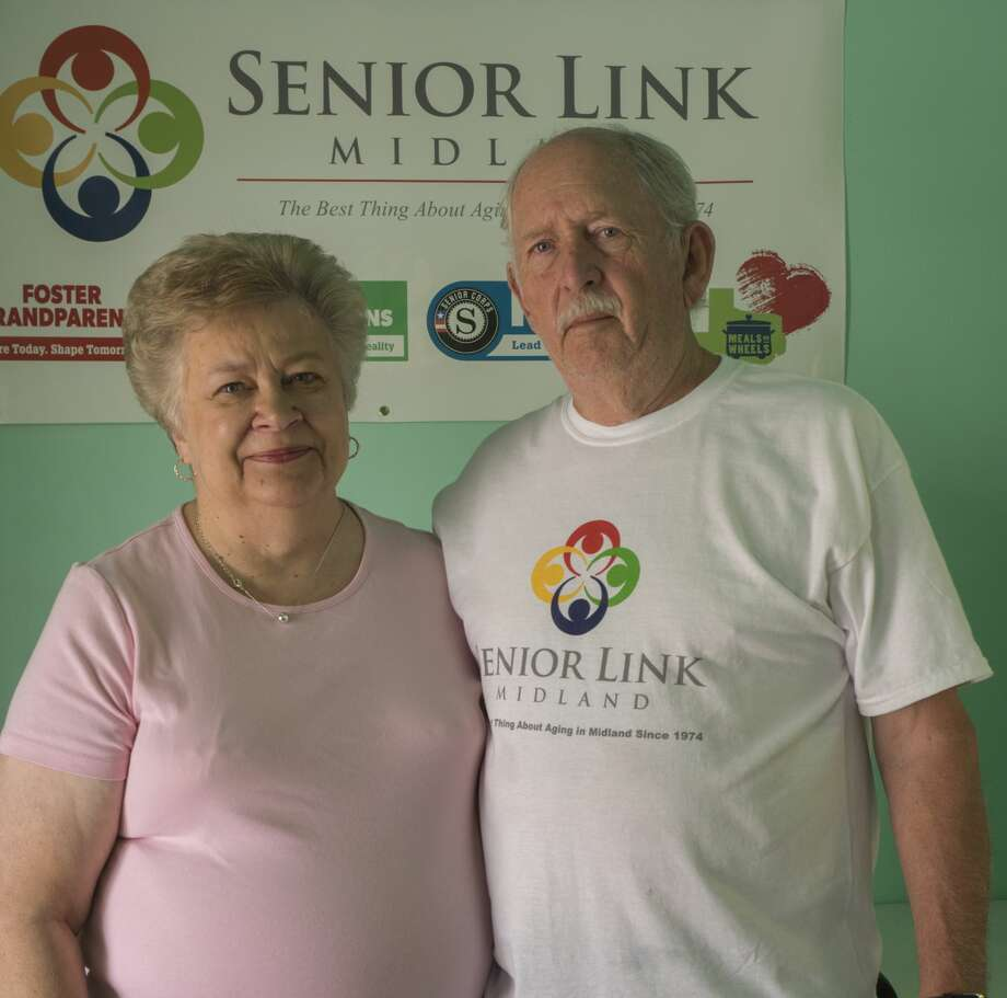 Leah and Gary Gerhard, Midland volunteers and one of the 52 Faces of Our Community.  7/06/17  Tim Fischer/Reporter-Telegram Photo: Tim Fischer/Midland Reporter-Telegram