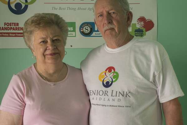 Leah and Gary Gerhard, Midland volunteers and one of the 52 Faces of Our Community.  7/06/17  Tim Fischer/Reporter-Telegram
