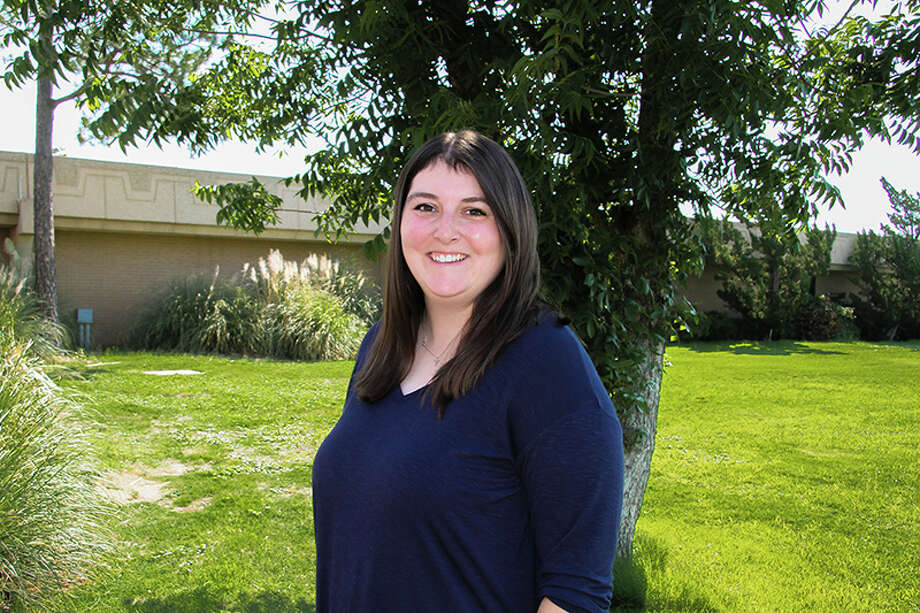 """""""Of course, I was no stranger to Midland College. The college has been an integral part of my life since I was a little girl -- for over 20 years. """" Photo: Katherine Curry"""
