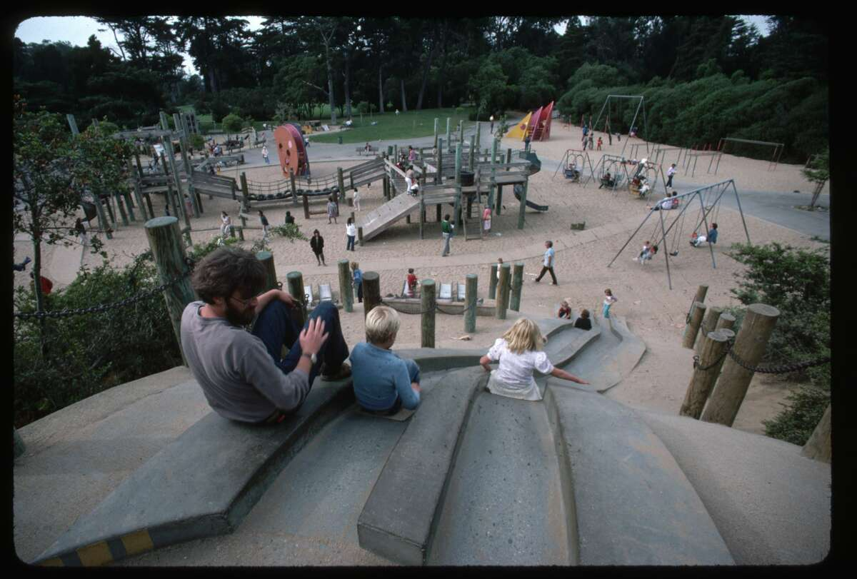 File photo of a playground in Golden Gate Park.