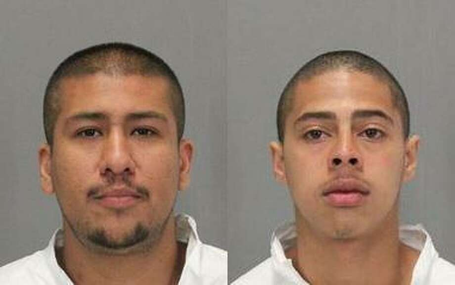Giovanny Ortiz, 25, left, and Eric James Carter, 18, were arrested in Modesto on suspicion of murder, police said. Photo: Santa Clara Police Department