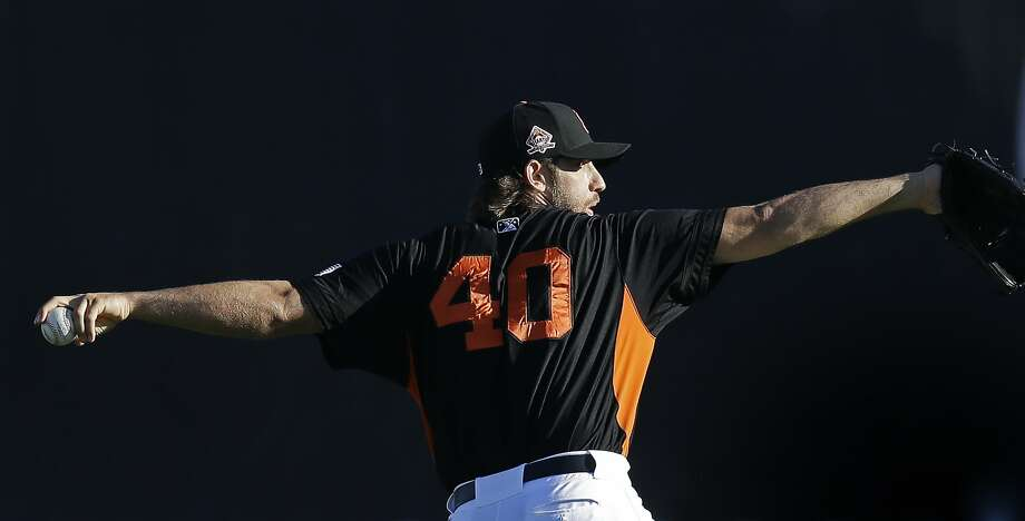 Giants pitcher Madison Bumgarner says he is ready