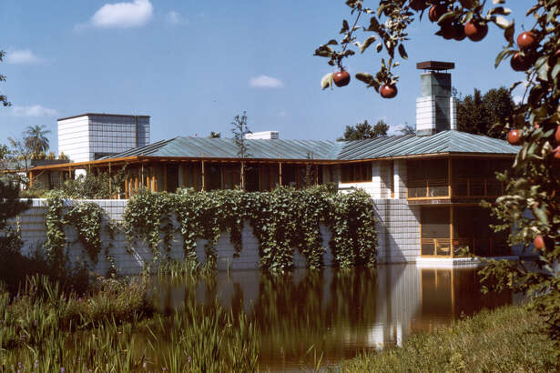 The Home and Studio is set in the original Dow Orchard.