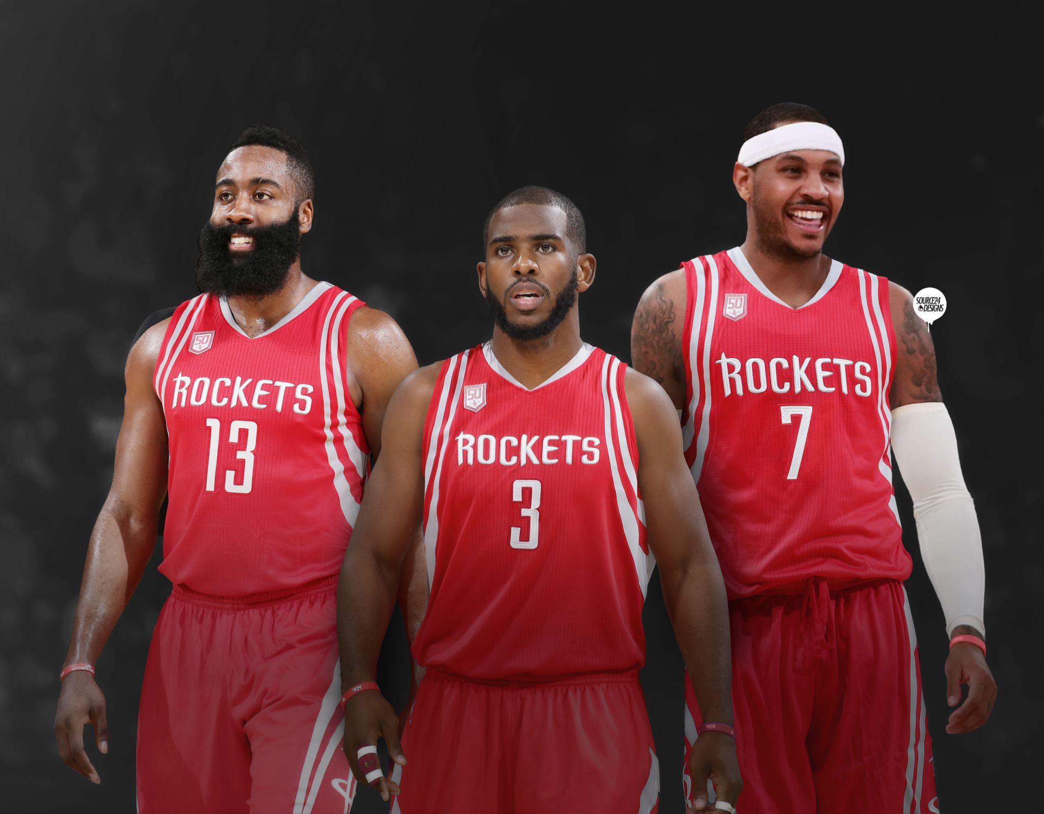 fc63af2069e Carmelo Anthony gets Photoshopped into Houston Rockets jersey - San ...