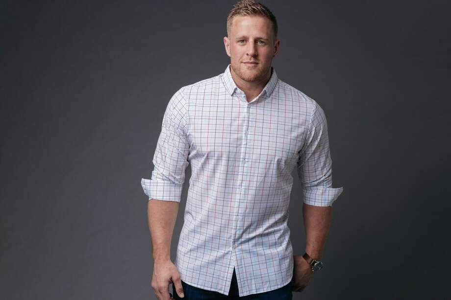 J.J. Watt debuts his clothing line with Dallas-based Mizzen+Main, which is sold at Nordstrom. Photo: Mizzen+Main