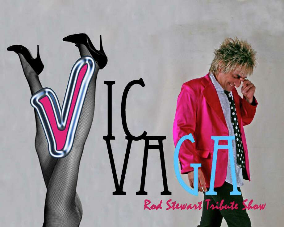 Rod Stewart tribute artist Vic Vaga performs at Tomball's Main Street Crossing on July 21.
