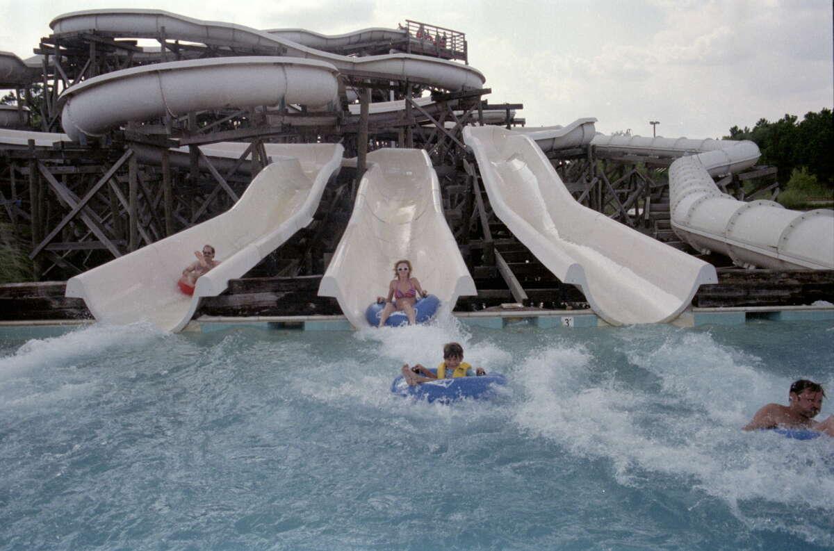 Waterworld amusement park in Houston July 1986