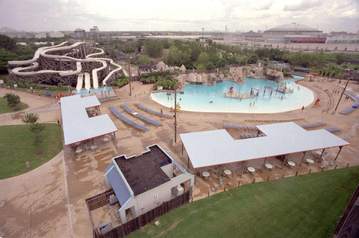 Waterworld amusement park in Houston June 1989.
