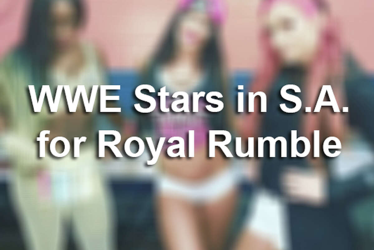 Royal Rumble was the main event on Sunday, January 29, 2017, at the Alamodome, but WWE superstars had a lot more going on behind the scenes throughout the weekend.See how athletes made the most of their weekend in the Alamo City.